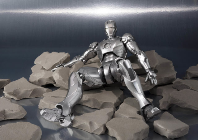 S.H. Figuarts Iron Man Mark II In Rubble
