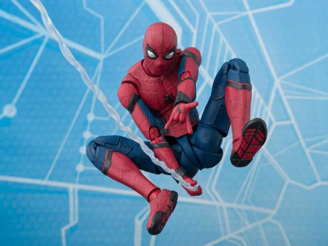 SH Figuarts Spider-Man Homecoming Six Inch Figure Pre-Order