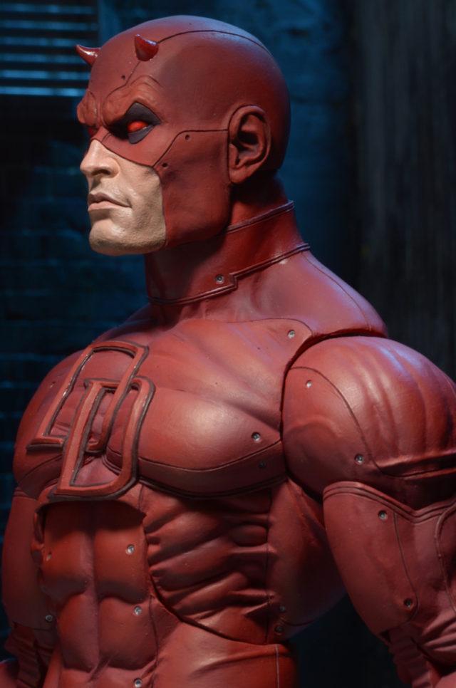 Side View of Daredevil NECA Quarter Scale Figure Head