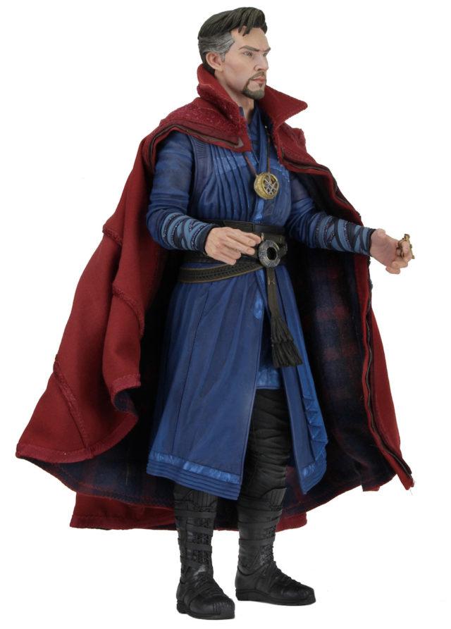 Side View of NECA Doctor Strange Movie Figure 2017