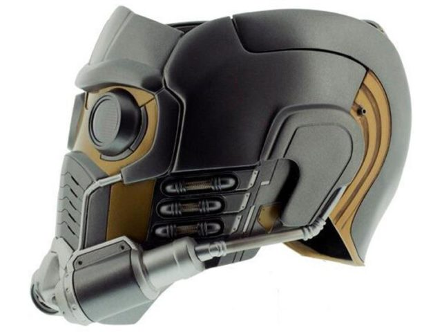 Side View of eFX Collectibles Star-Lord Helmet Life-Size Replica