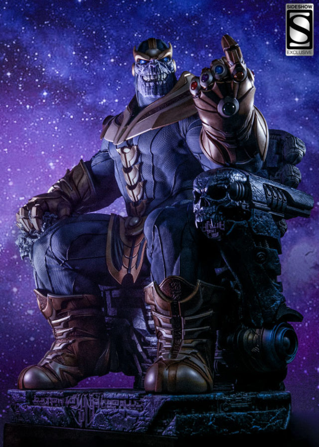 Sideshow Exclusive Thanos on Throne Maquette