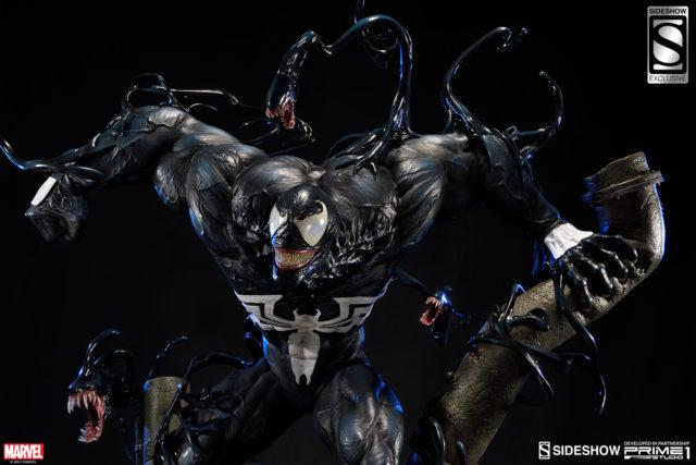 Sideshow Exclusive Venom Prime 1 Studio Statue Head