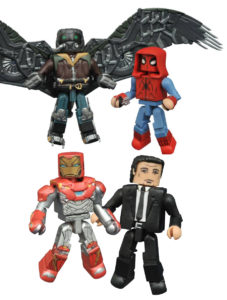 Spider-Man Homecoming Minimates Figures Revealed