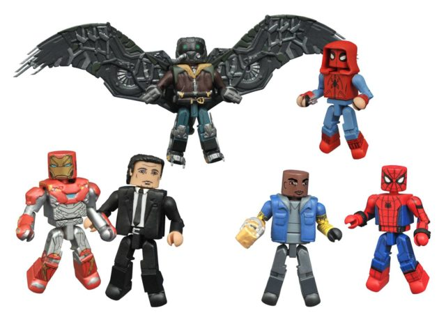 Toys R Us Exclusive Spider-Man Homecoming Minimates Series