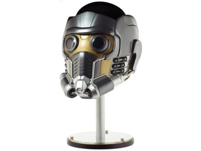 eFX Star-Lord Helmet Replica on Mannequin Head Display Stand