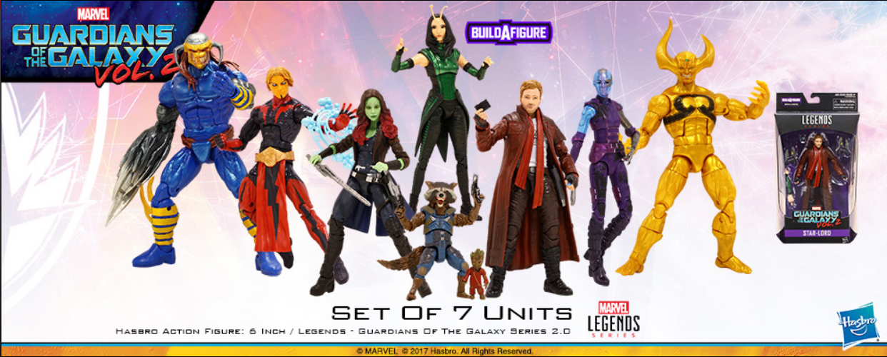 New GUARDIANS OF THE GALAXY Marvel Legends Toys Are Here