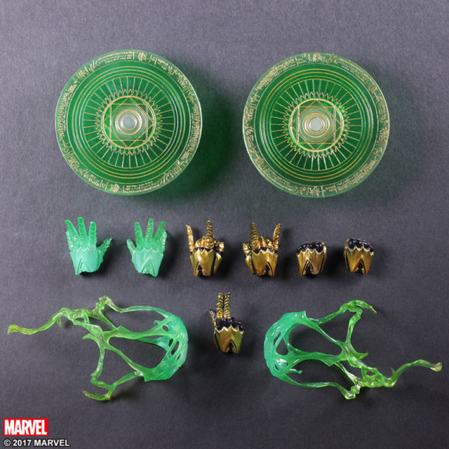 Accessories for Marvel Variant Play Arts Kai Dr Strange Figure