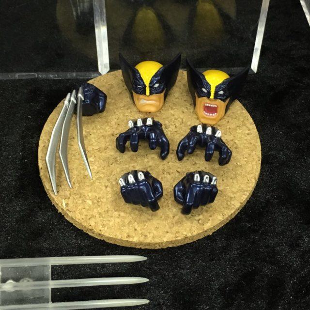 Amazing Yamaguchi Wolverine Revoltech Figure Accessories