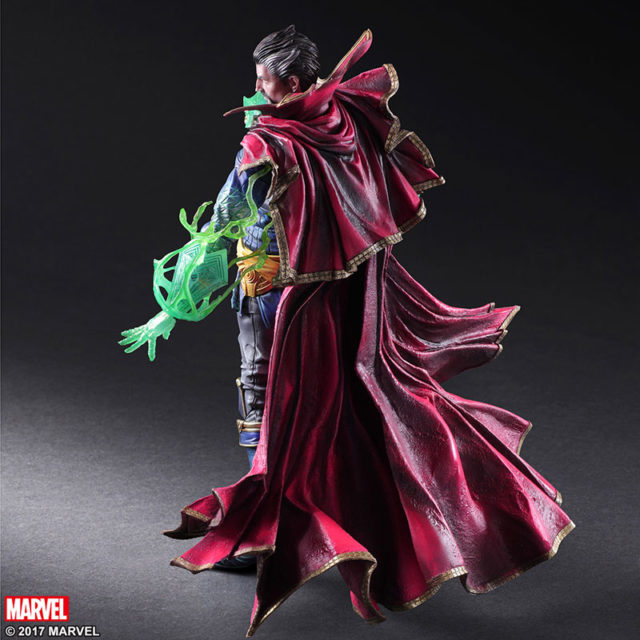 Back of Doctor Strange Square Enix Play Arts Kai Figure
