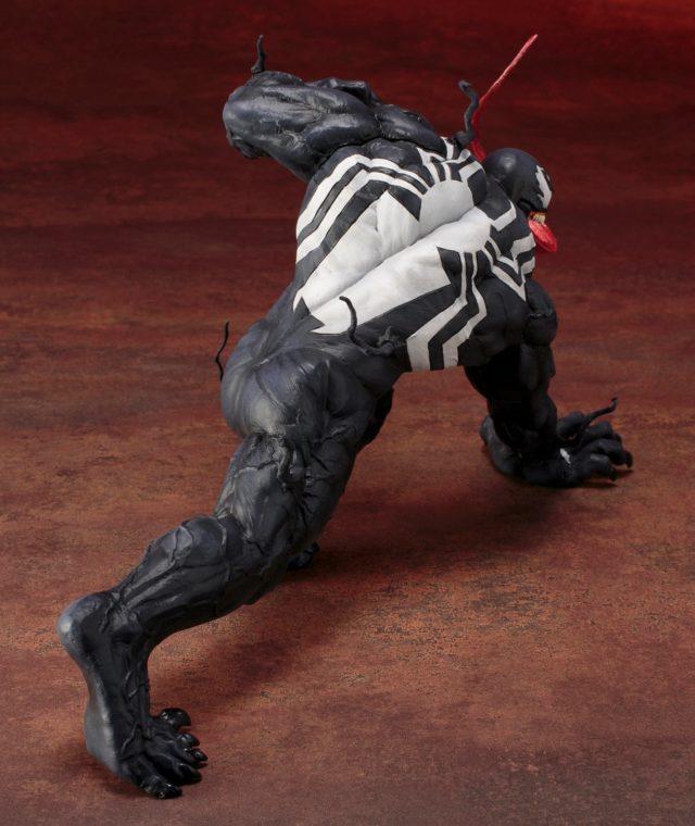 Back of Kotobukiya Spider-Man Venom ARTFX+ Statue