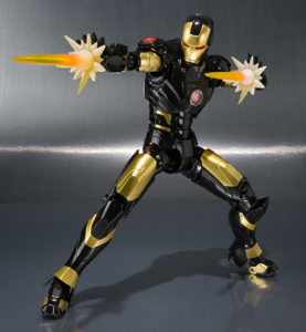 Bandai SH Figuarts Age of Heroes Iron Man Mark III Figure Black Exclusive