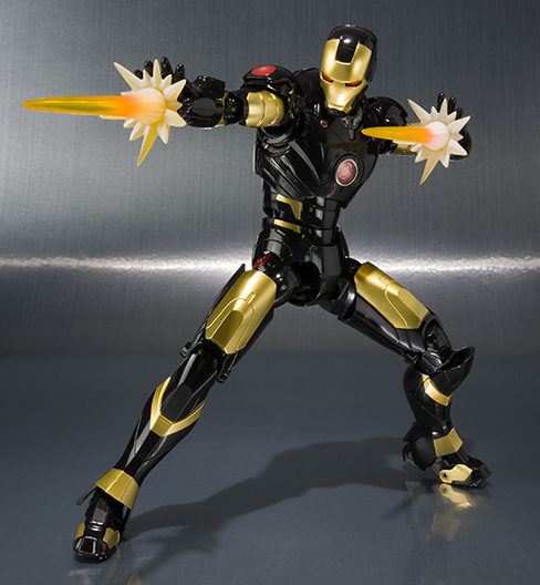 Bandai SH Figuarts Age of Heroes Iron Man Mark III Figure Black Exclusive