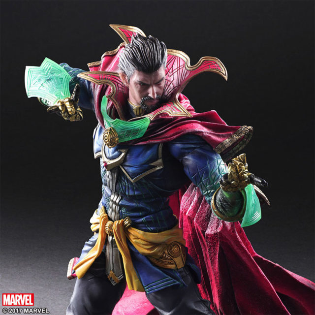 Close-Up of Doctor Strange Play Arts Kai Figure