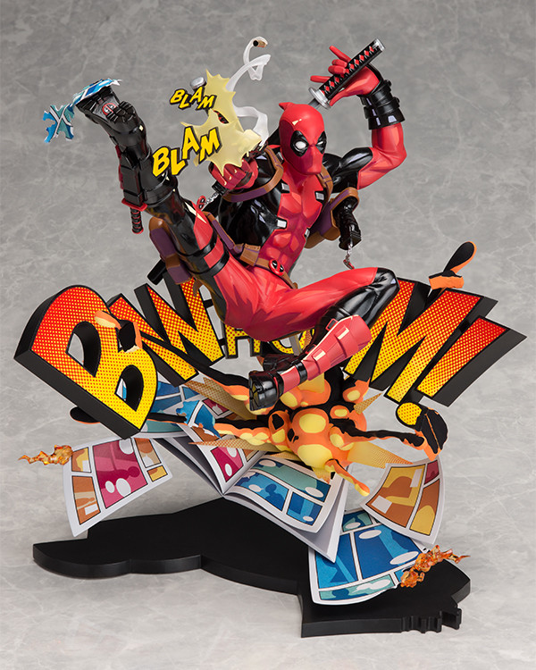 Deadpool Breaking The Fourth Wall Statue Good Smile Company