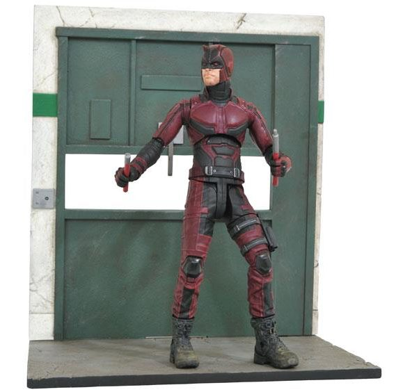 Diamond Select Toys Netflix Daredevil Action Figure with Elevator Base