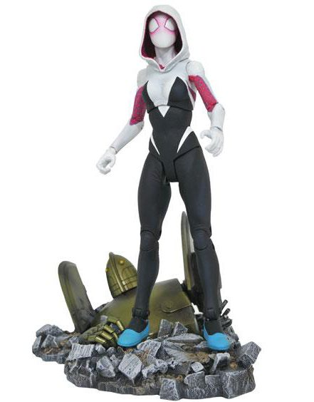 Diamond Select Toys Spider-Gwen Marvel Select Figure