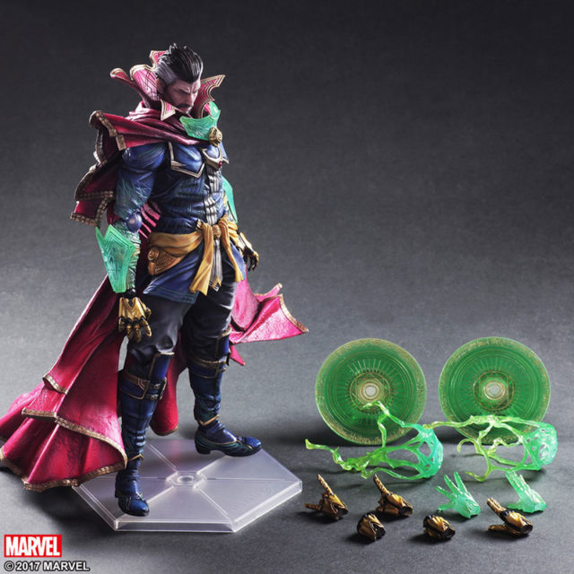 Doctor Strange Play Arts Kai Figure and Accessories