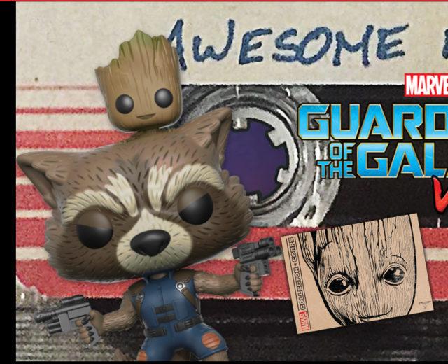 Funko Rocket Raccoon and Groot POP Vinyl Figure Exclusive
