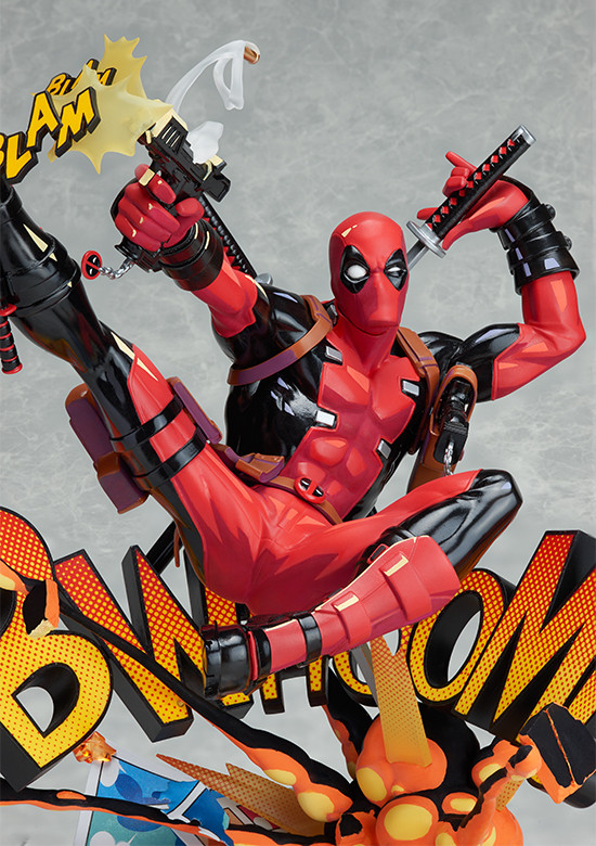 Good Smile Company Deadpool Breaking The Fourth Wall Statue