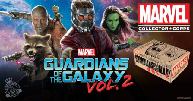 Guardians of the Galaxy Vol. 2 Marvel Collector Corps Box Funko