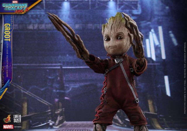 Hot Toys Guardians of the Galaxy Vol. 2 Baby Groot Life Size with Attack Arms