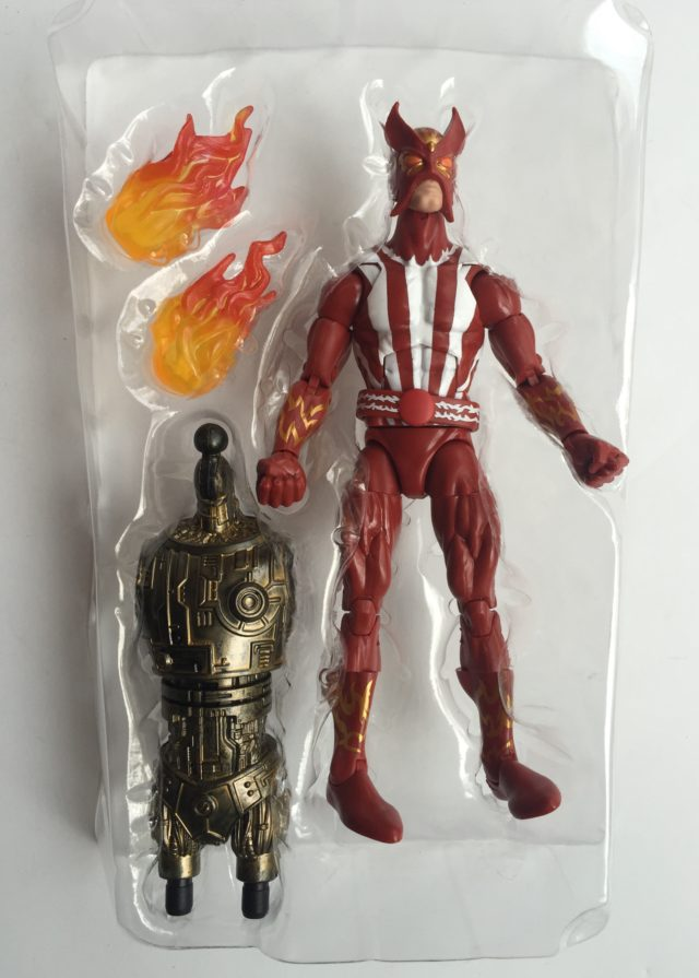 Marvel Legends X-Men Warlock Series Sunfire Action Figure & Accessories