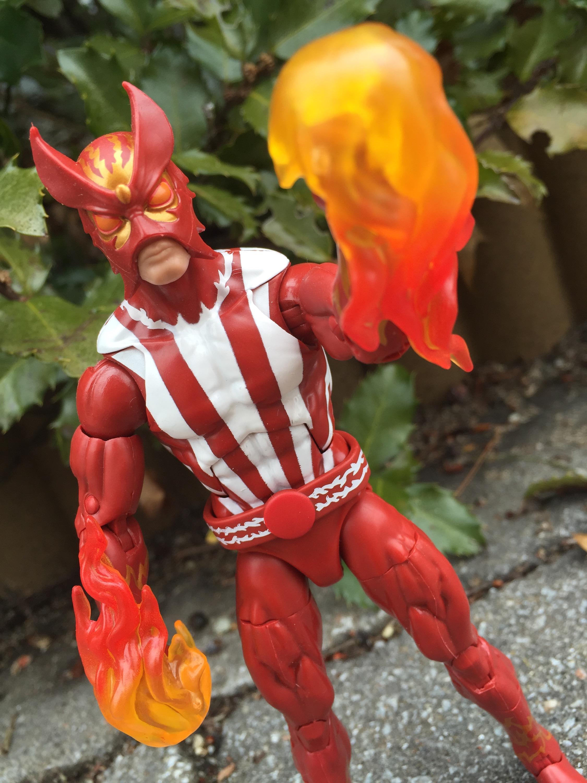 Marvel Sunfire Action Figure