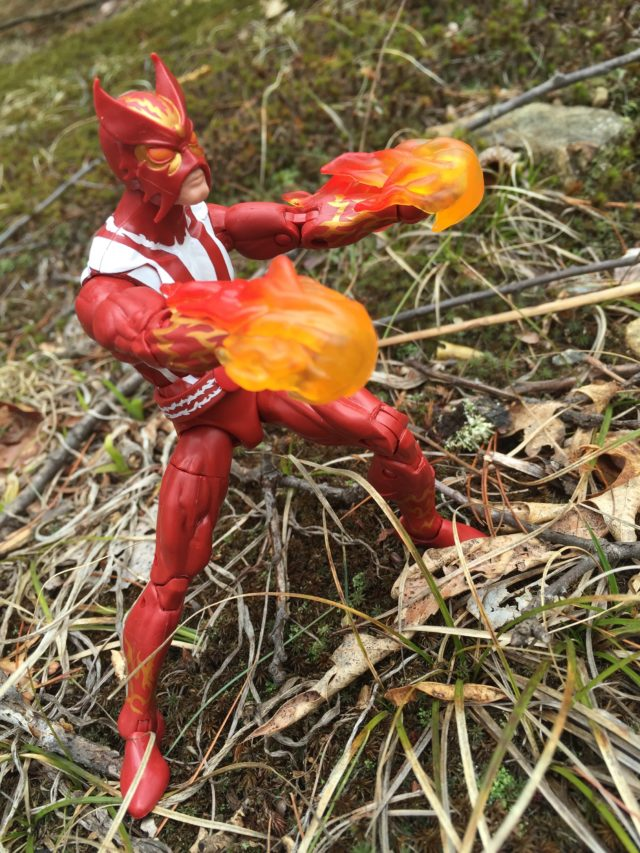 Sunfire Marvel Legends 2017 Action Figure Review