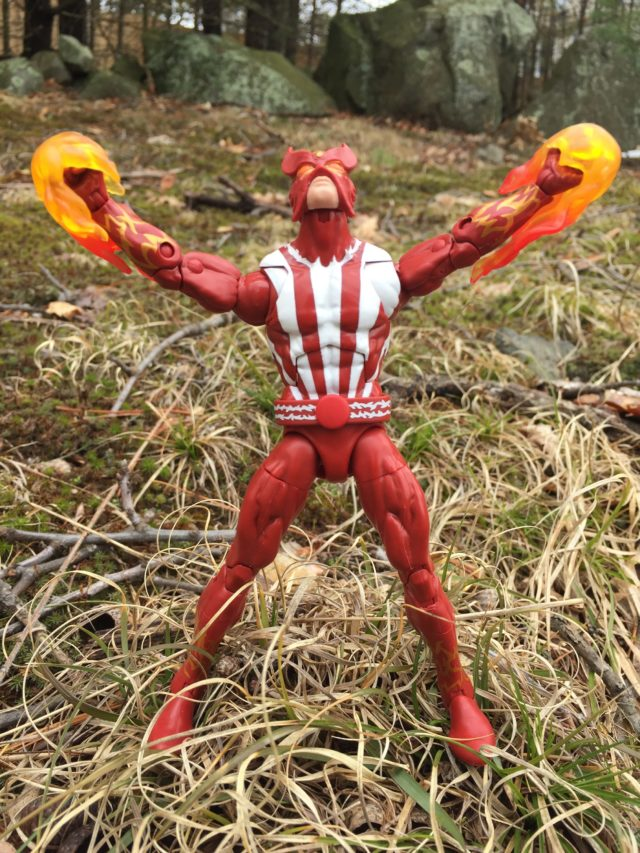 Hasbro Sunfire Marvel Legends X-Men Series Figure Review