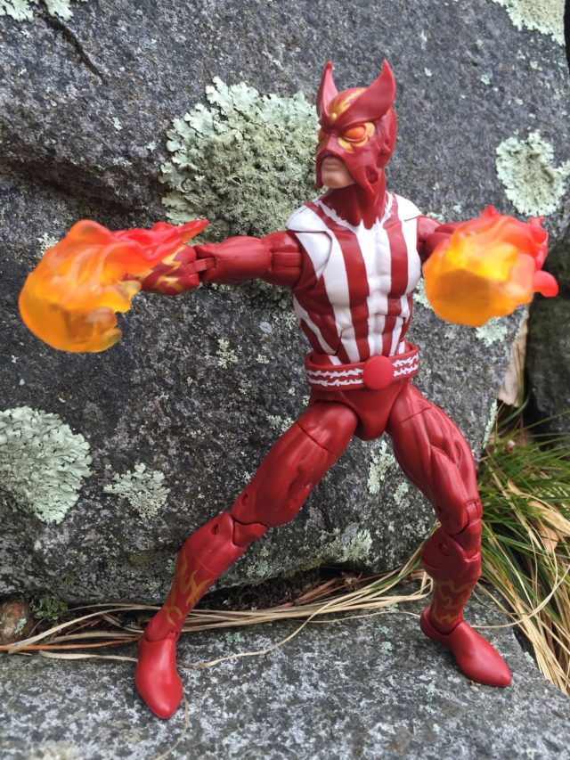 Hasbro Marvel Legends 2017 Sunfire Figure Flame Effects Pieces
