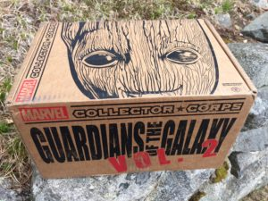 Funko Collector Corps Guardians of the Galaxy Vol. 2 Box Review Spoilers Photos