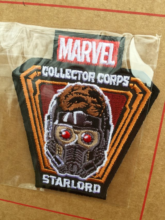 Marvel Collector Corps Star-Lord Patch