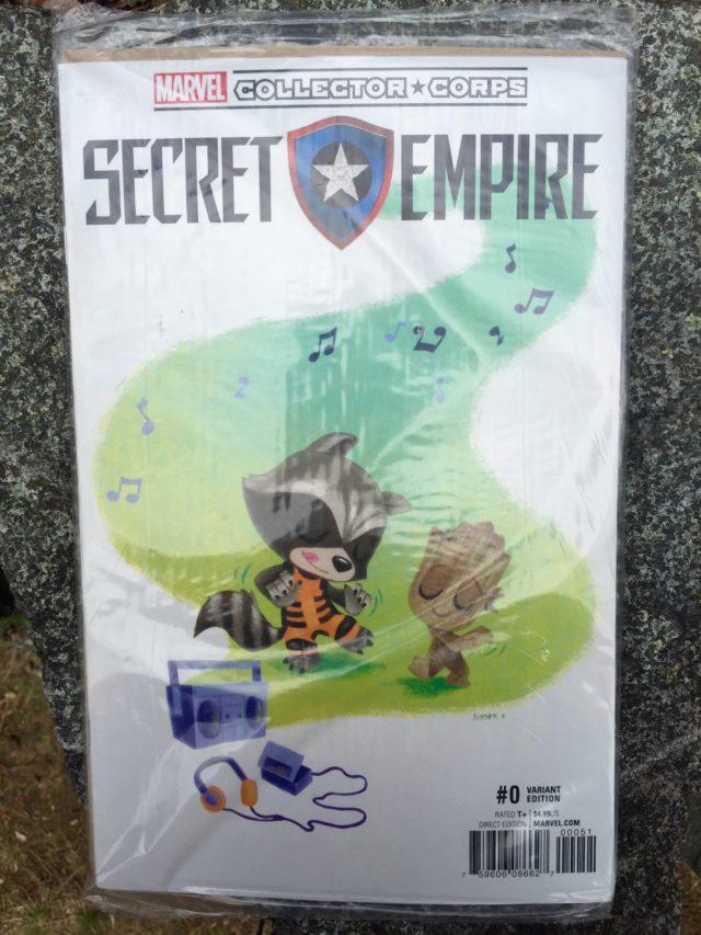 Funko Secret Empire #0 Variant Cover Rocket Raccoon Groot