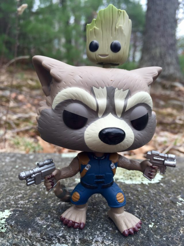Marvel Collector Corps Rocket Raccoon and Groot POP Vinyls Figure Exclusive