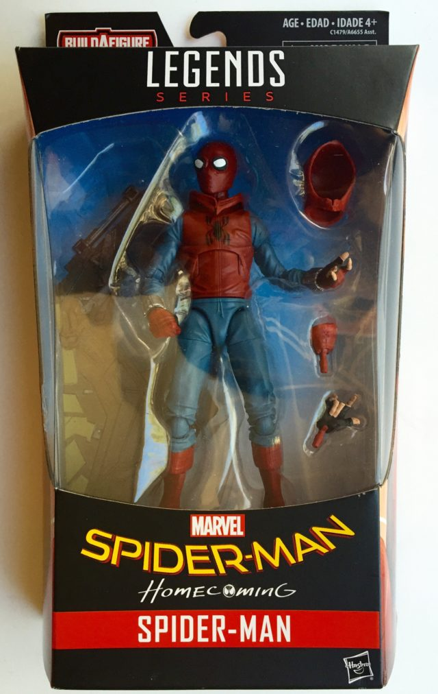 Spider-Man Homecoming Homemade Suit Legends Figure Packaged