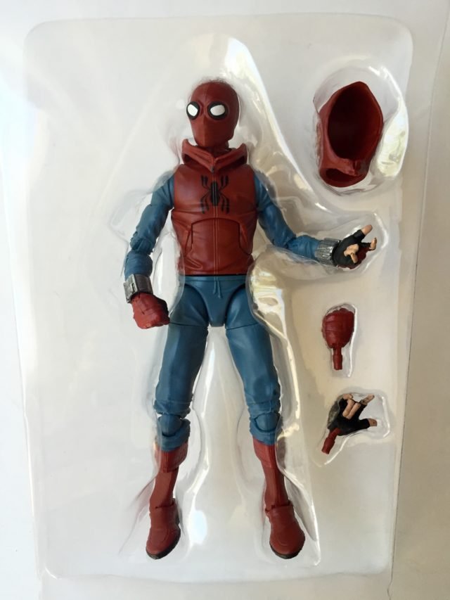 Marvel Legends Spider-Man Homemade Suit Figure and Accessories