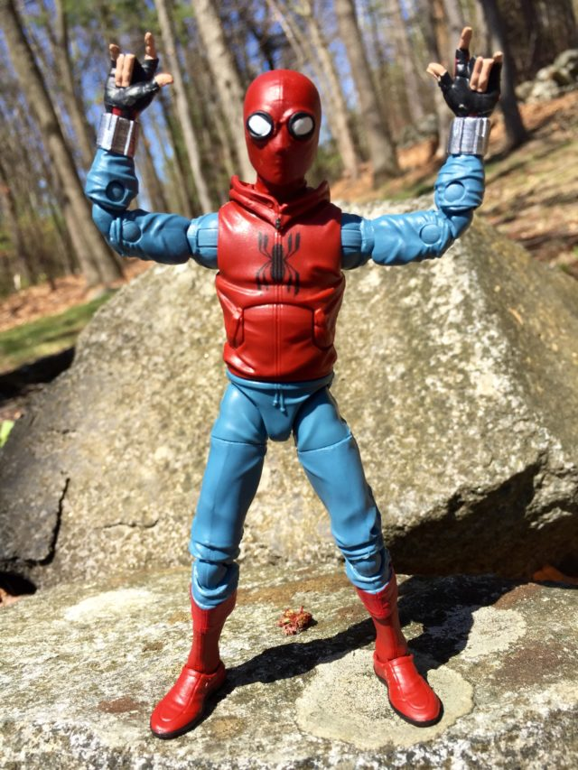 Spider-Man Marvel Legends Homecoming Home Made Costume Figure