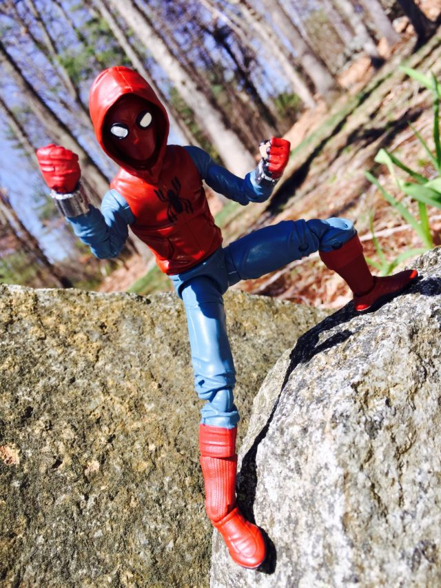 Homecoming Spider-Man Home Made Suit Marvel Legends Hasbro Figure Review