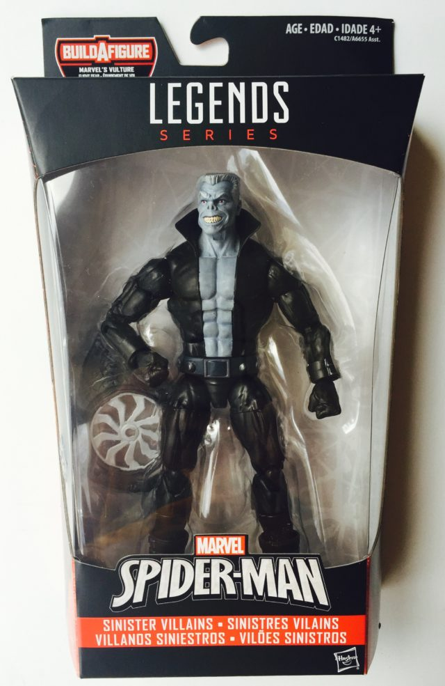 Spider-Man Homecoming Marvel Legends Tombstone Packaged