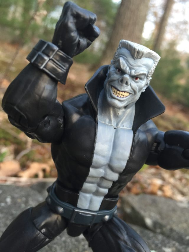 Close-Up of Tombstone Marvel Legends Figure