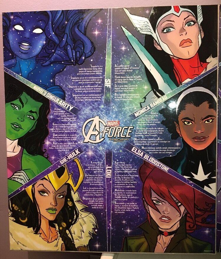Avengers, Marvel Legends A-Force