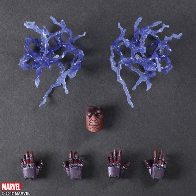 Magneto Play Arts Kai Figure Accessories