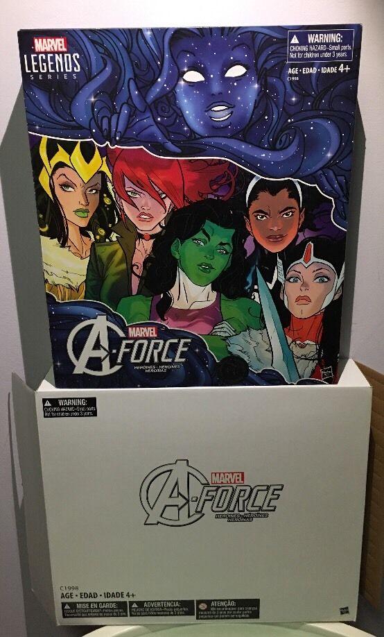 Marvel Legends A-Force Exclusive Set