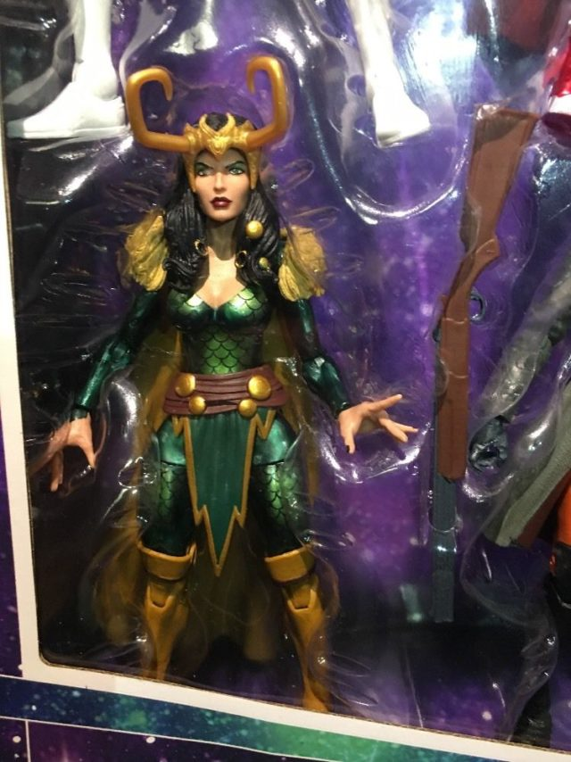 Marvel Legends Lady Loki Female Figure from Toys R Us Exclusive Set