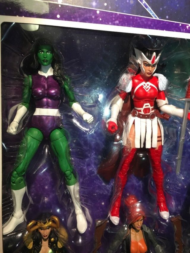 Marvel Legends Sif and She-Hulk Six Inch Figures