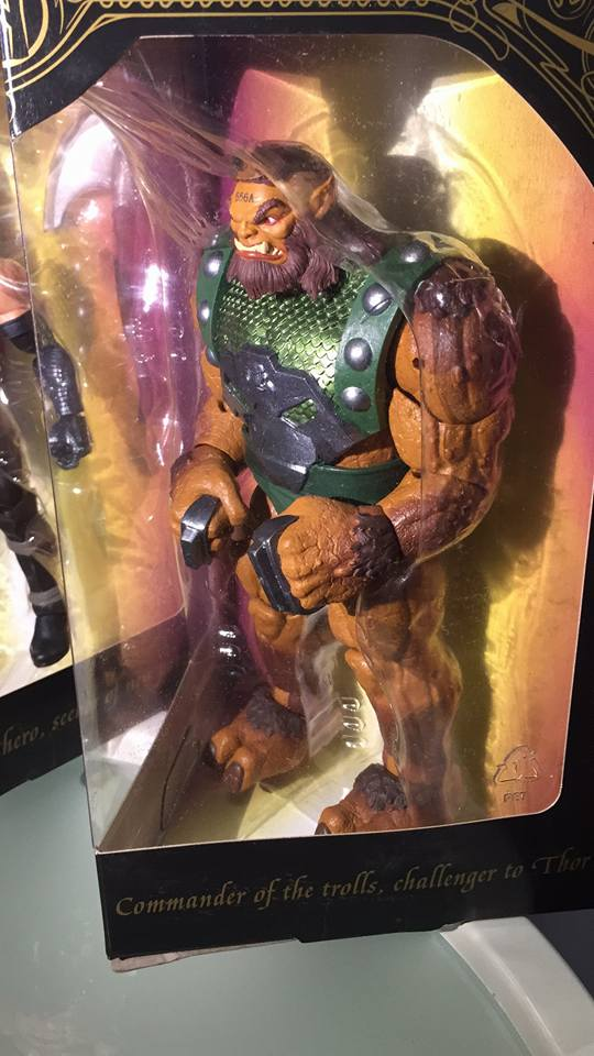 Marvel Legends Ulik Figure from San Diego Comic-Con 2017 Exclusive Set