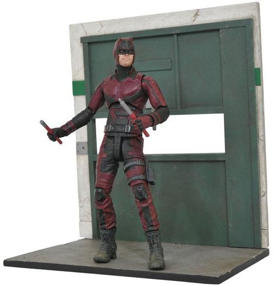 Marvel Select Netflix Daredevil Figure and Base
