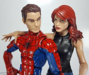 Mary Jane Marvel Legends 2017 Figure with Peter Parker Spider-Man