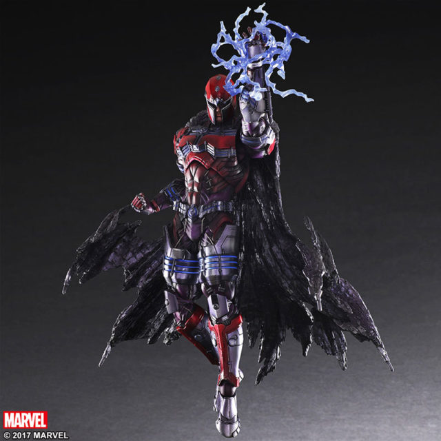 Play Arts Kai Marvel Magneto Action Figure